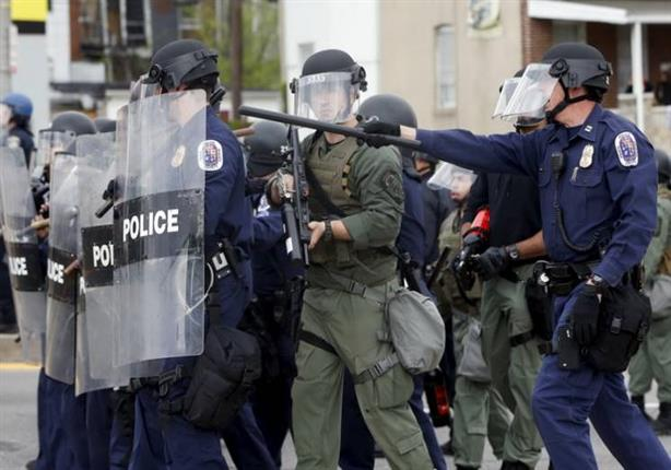 الحرس الوطني يتحرك لإخماد أعمال الشغب في بالتيمور
