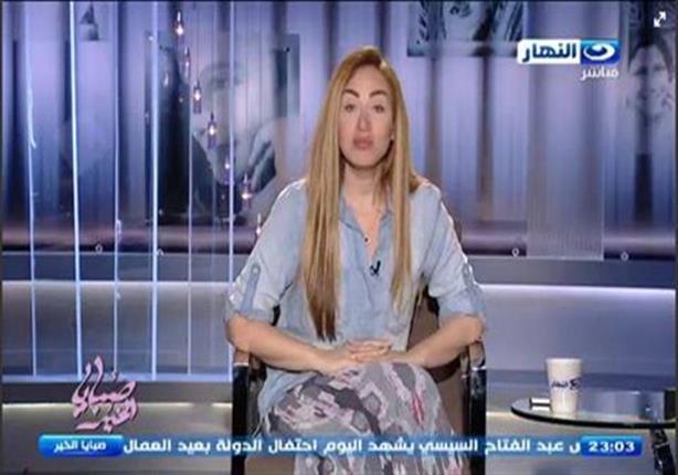 """انسحاب ريهام سعيد على الهواء بعد """"مشادة كلامية"""" مع مالك قناة النهار"""