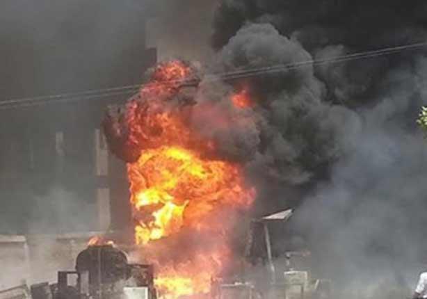 انفجار عبوة ناسفة وإبطال مفعول 4 أعلى برج كهرباء بالبحيرة