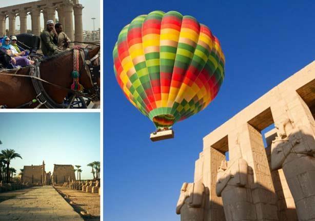 السياحة في الاقصر ..بين رحلتى الشتاء والصيف