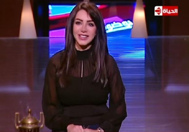 """أول ظهور لزوجة الفنان يوسف الشريف """" إنجى علاء """"كإعلامية مع عمرو الليثى"""