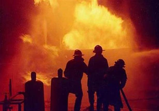 وفاة شخص وإصابة العشرات في حريق بقسم شرطة العجوزة