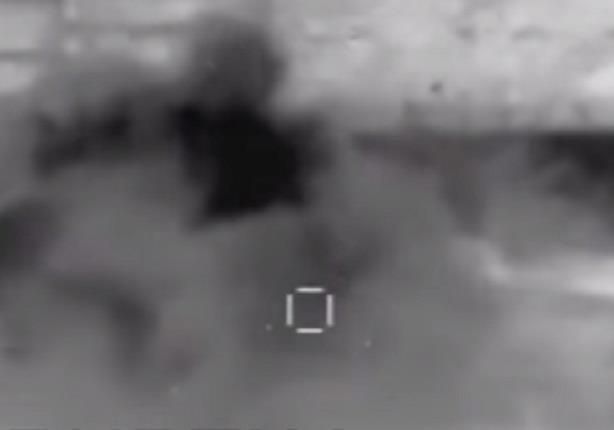 """مشاهد لسلسلة من الضربات الجوية ضد """"الدولة الإسلامية"""" في محافظة الأنبار"""