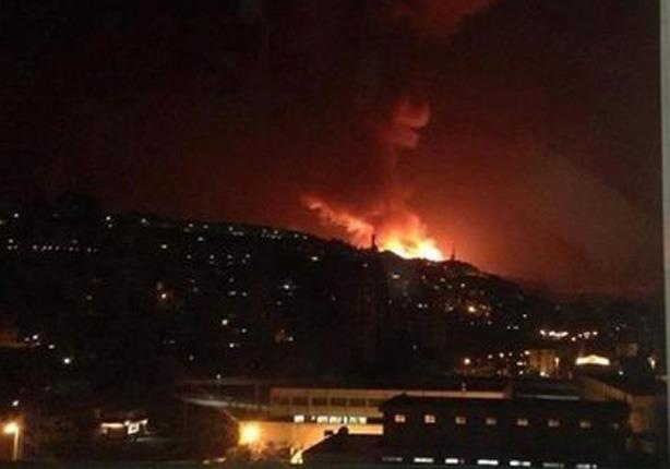 انفجارات مدوية في إسرائيل.. وإطلاق صافرات الإنذار