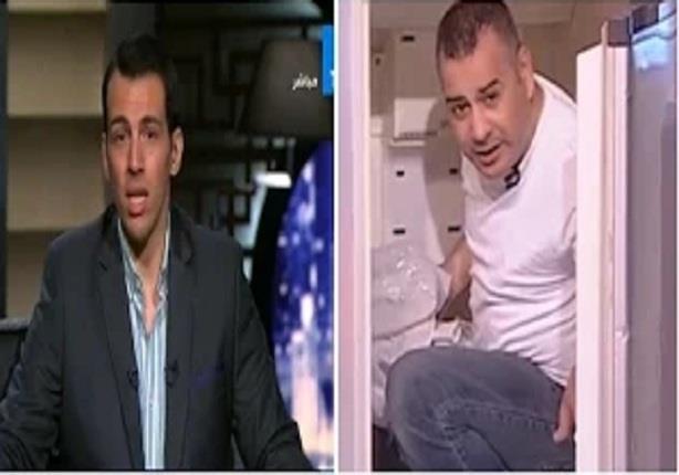 """تعليق رامى رضوان على خروج """"جابر القرموطى"""" من الثلاجة على الهواء"""