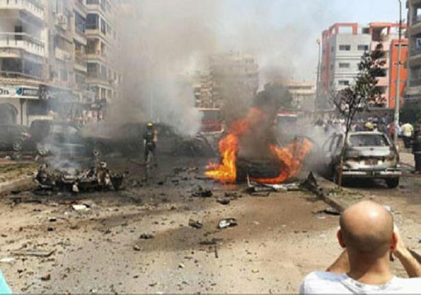 اللقطات الأولى للانفجار الذي استهدف موكب النائب العام