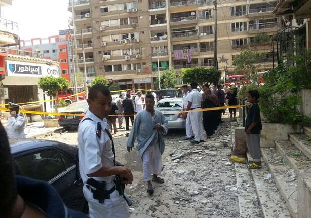 الصحة: 9 مصابين ووفاة النائب العام الحصيلة النهائية في حادث مصر الجديدة
