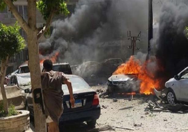 أول مشاهد للسيارة المستخدمة فى تفجير موكب النائب العام هشام بركات