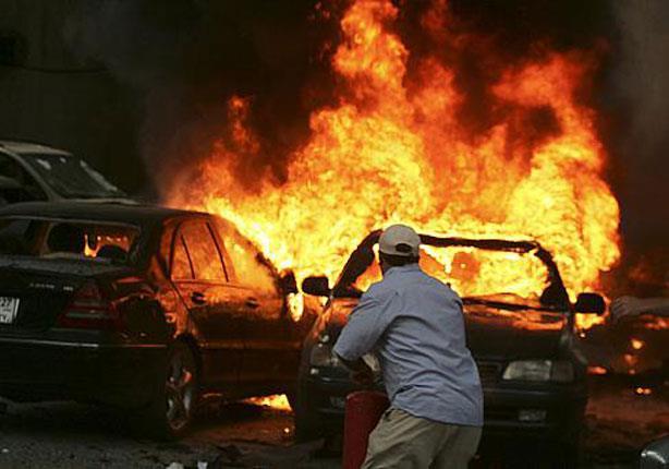 الداخلية تكشف تفاصيل انفجار عبوات متفجرة داخل سيارة بالجيزة