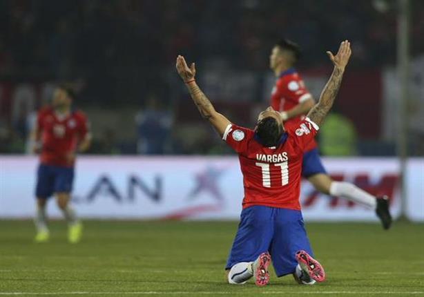 أهداف تشيلي 2 - بيرو 1