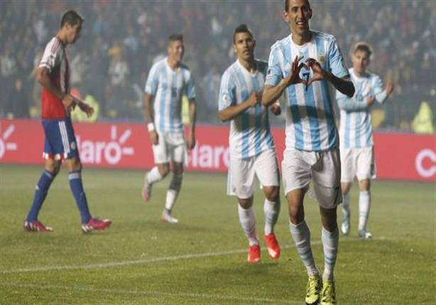 أهداف الأرجنتين 6 - باراجواي 1