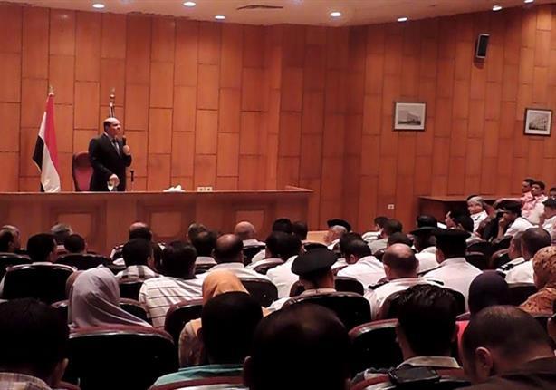 بالصور- مدير أمن الإسكندرية يطالب أمناء الشرطة بإحترام حقوق المواطن