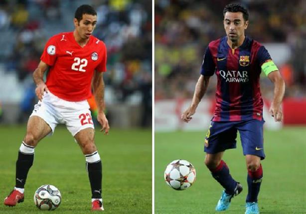 تشافي: أبو تريكة أفضل لاعب عربي شاهدته في حياتي