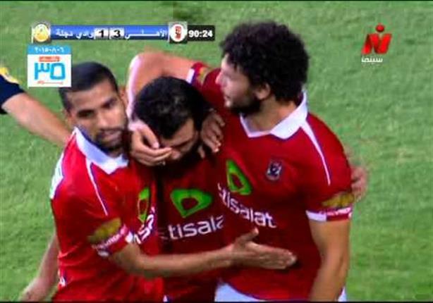 أهداف الأهلي 3 - وادي دجلة 1