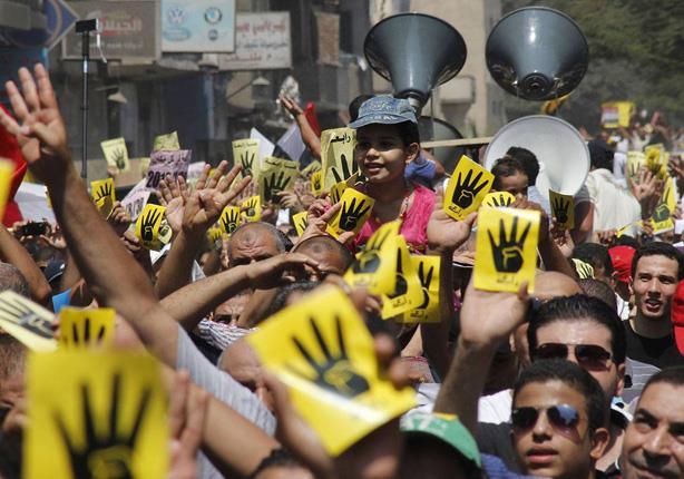 أهالي الغربية يرشقون مسيرات الإخوان بالحجارة.. وقوات الشرطة تطاردهم بالمدرعات