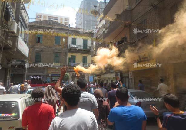 بالصور- 4 مسيرات للإخوان بالإسكندرية في ذكرى عزل مرسي