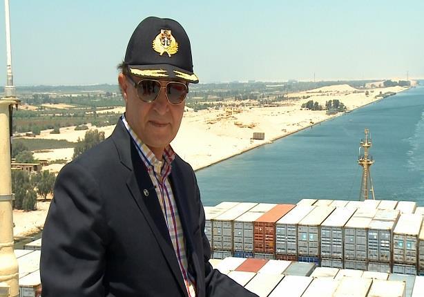 مهاب مميش يكشف تفاصيل القناة الجديدة في بور سعيد والمدة الزمنية المقررة لها