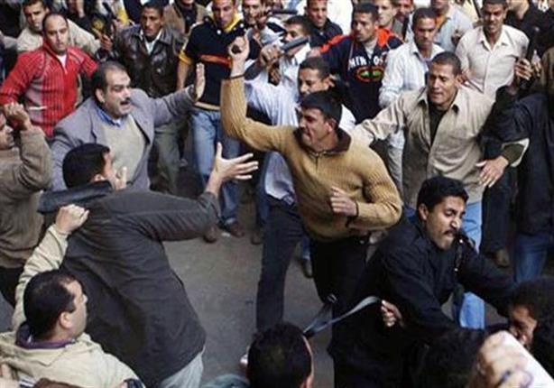 """إصابة ضابط مباحث أثناء فض مشاجرة بـ""""سوق اكتوبر"""""""
