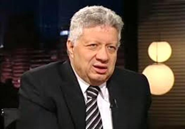 مرتضى منصور يبكى على الهواء ويعتذر لكل شخص اخطأ في حقه