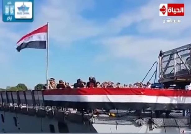 """القوات البحرية المصرية تحتفل بتسلم الفرقاطة فرنسية الصنع """" تحيا مصر """" بالإسكندرية"""