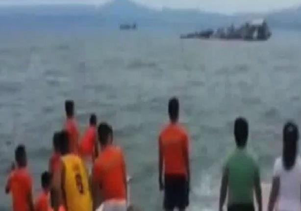 ارتفاع قتلى عبارة الفلبين الغارقة إلى 59 شخصا