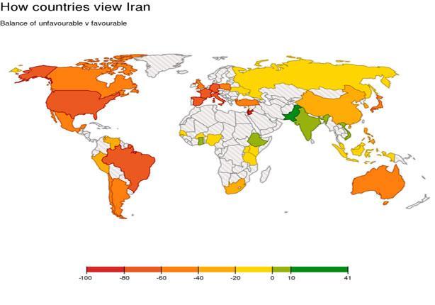 كيف يرى العالم إيران؟