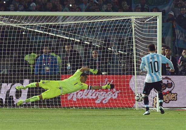ضربات ترجيح نهائي كوبا أمريكا (تشيلي 4 - الأرجنتين 1)