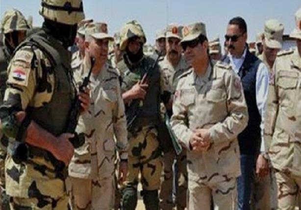 تعرف على اهم  تصريحات الرئيس السيسي فى لقاء الجنود بسيناء