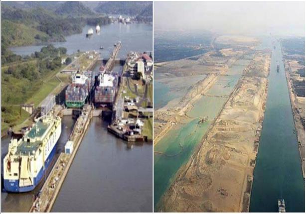 موسى يعرض الفرق بين قناة السويس الجديدة وقناة بنما