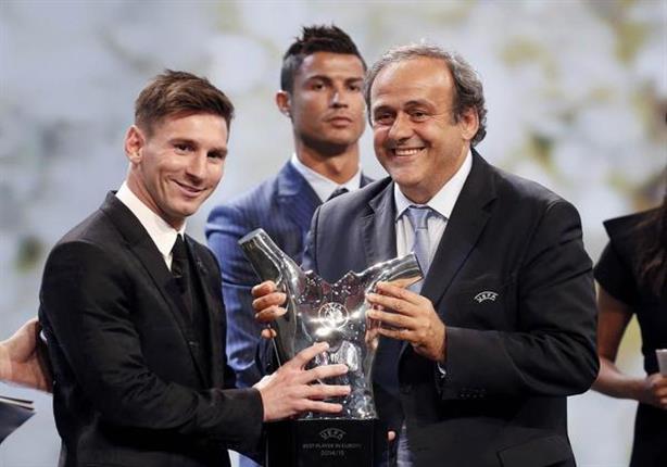 بالفيديو والصور.. ميسي أفضل لاعب في أوروبا 2015