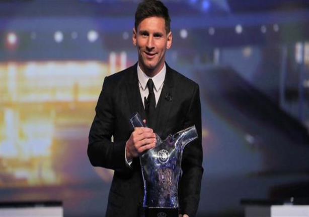 تتويج ميسي بجائزة أفضل لاعب في أوروبا