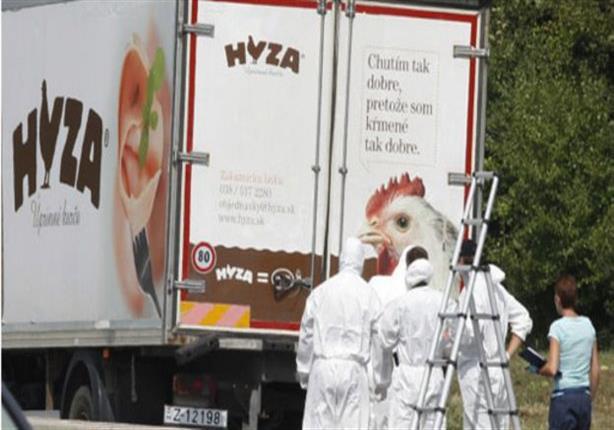 """العثور على 71 جثة """"قد تكون لمهاجرين سوريين"""" داخل شاحنة في النمسا"""