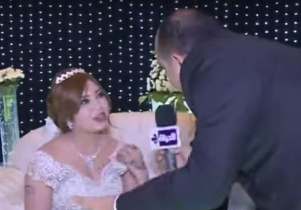 أول لقاء مع عروسة حازم إمام في حفل زفافهما