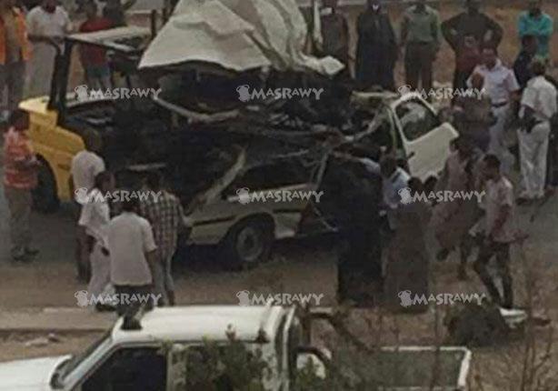 الصحة: 8 وفيات و7مصابين جراء تصادم ميكروباص وأتوبيس في مدينة نصر