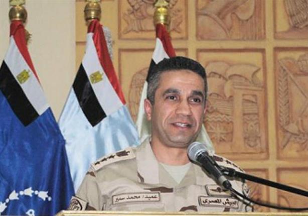 المتحدث العسكري: مقتل 21  تكفيريًا في حملة بشمال سيناء