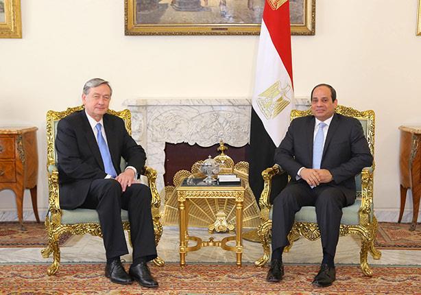 لقاء السيسي ونظيره السلوفيني يتصدر عناوين صحف القاهرة