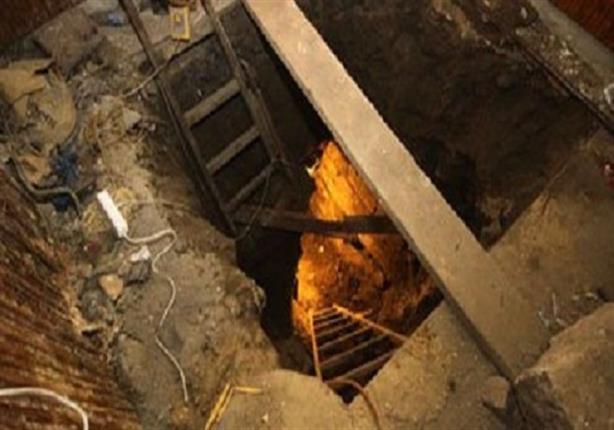 ضبط عامل بمسجد ينقب عن الآثار أسفل منزله في قليوب