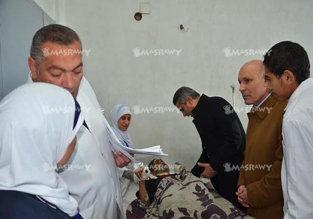 صحة بني سويف: تحويل حالتين للقاهرة وخروج 60 مصابا من حادث القطار
