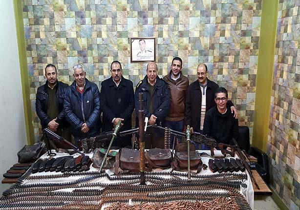 """بالصور.. نيابة ملوي: الأمن وصل قبل دقائق من معركة """"الجرينوف"""""""