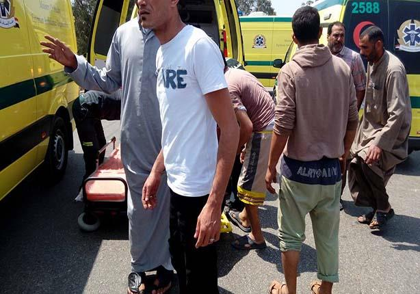 مصرع شخصين وإصابة 5 آخرين وتحطم 4 سيارات بطريق القاهرة الإسماعيلية