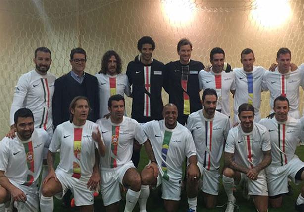 """نجوم الكرة العالمية يشاركون في """"مباراة العمر"""" بلبنان سبتمبر المقبل"""