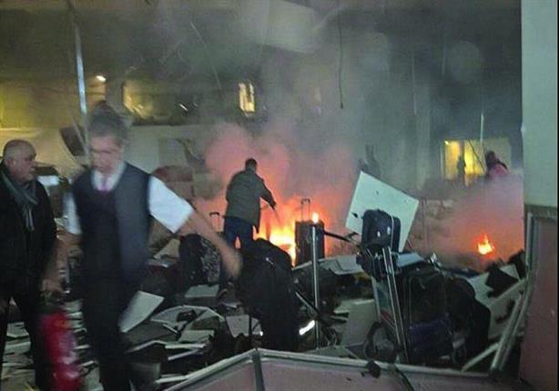 بالفيديو .... لحظة انفجار مطار أتاتورك بإسطنبول 2016_6_29_0_5_7_993