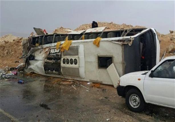 مصرع وإصابة 39 شخصا في حادث مروري بالمنيا