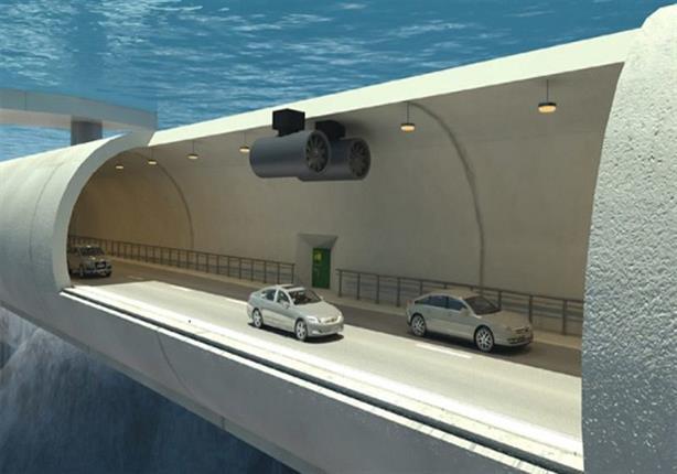 بالفيديو.. إنشاء طريق للسيارات في أعماق مياه المحيط الأطلسي!