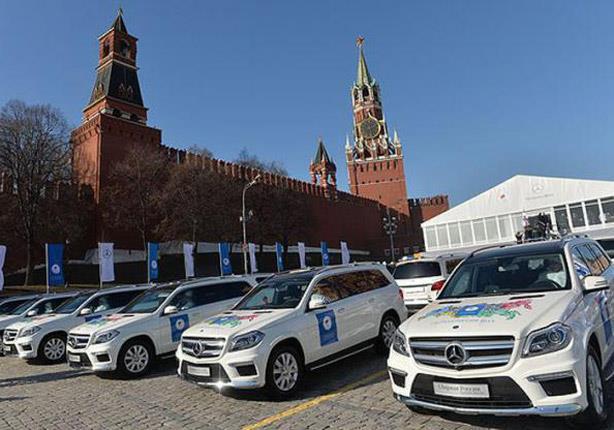 بالصور - روسيا تهدي الأبطال الأولمبيين سيارات فارهة