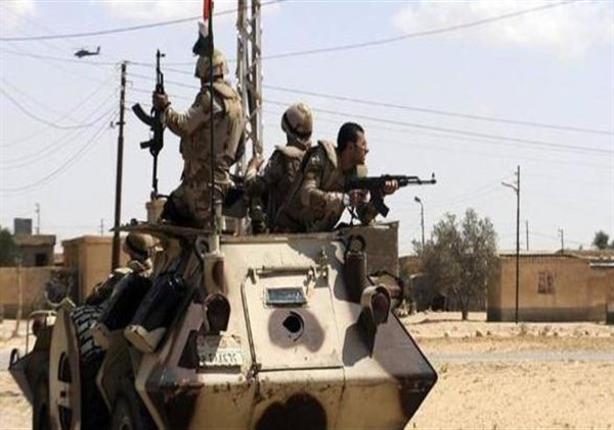 إصابة مجندين إثر هجوم مسلح علي كمين سادوت برفح