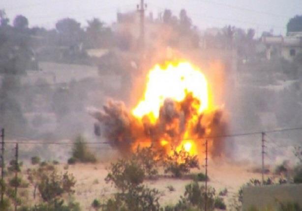 إصابة ضابط ومجندين إثر تفجير مدرعة بعبوة ناسفة بمدينة رفح