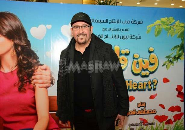 "بالصور- هشام عباس وطلعت زكريا يحتفلان مع مصطفى قمر بـ""فين قلبي"""