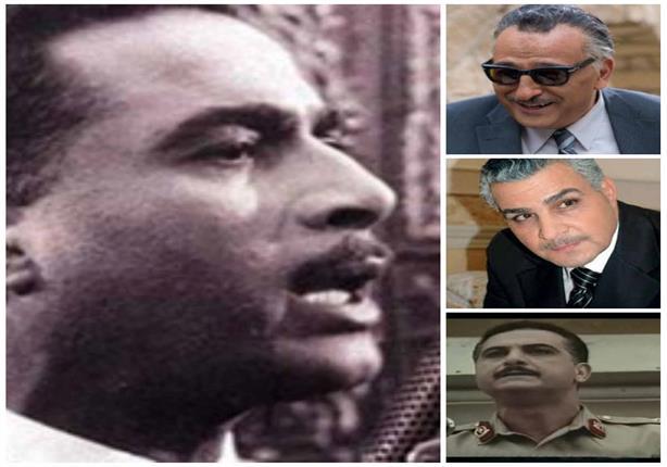 5 فنانين جسدوا شخصية الرئيس جمال عبدالناصر في أعمالهم الفنية