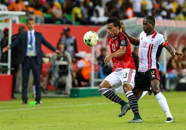 شاهد 20 فيديو وملخص مباراة مصر وأوغندا